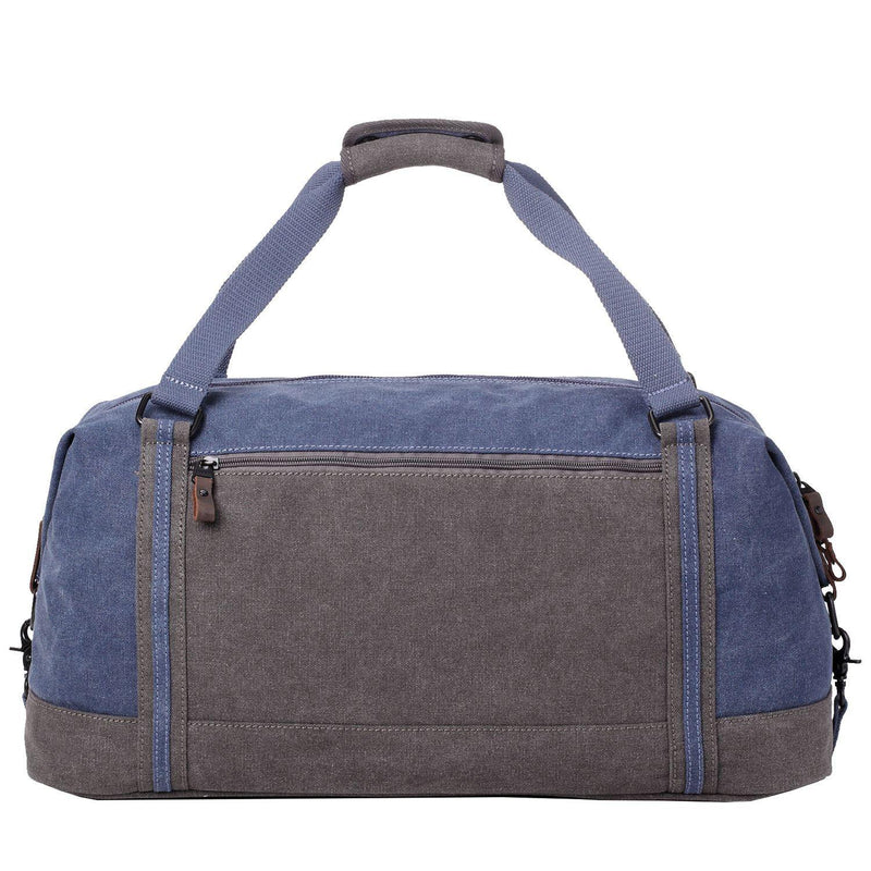 TRP0466 Troop London Heritage Waxed Canvas Travel Duffel Bag, Canvas Holdall, Gym Bag