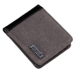 TRP0500 Troop London Accessories Canvas Bi-fold Wallet - Troop London