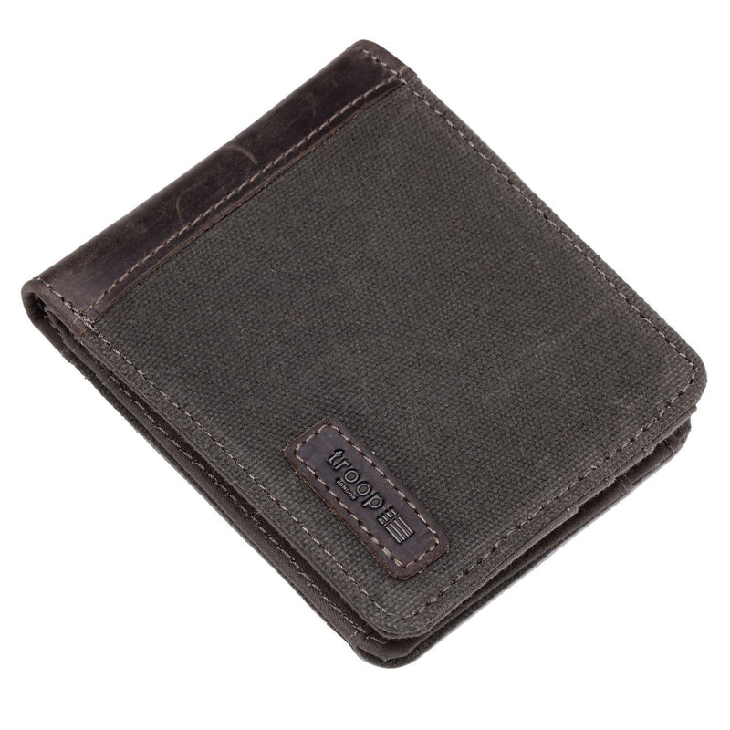 TRP0500 Troop London Accessories Canvas Bi-fold Wallet - troop-london-official