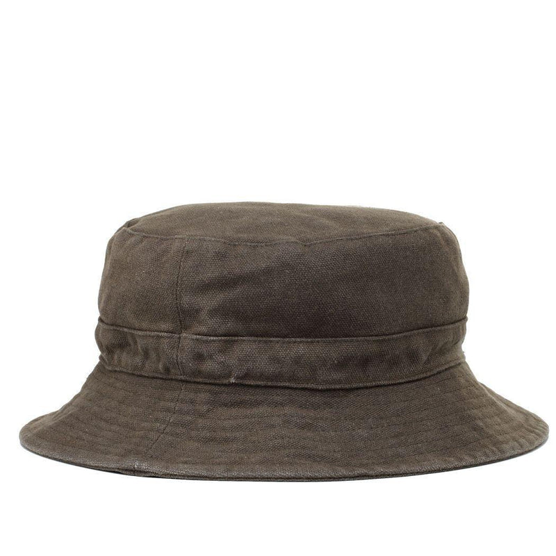 TRP0502 Troop London Accessories Waxed Canvas Fisherman Hat, Sun Hat, Outdoor Hat - troop-london-official