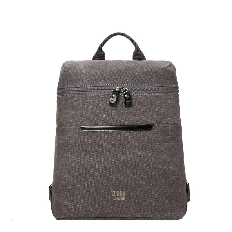 TRP0508 Troop London Classic Small Canvas Backpack - Troop London
