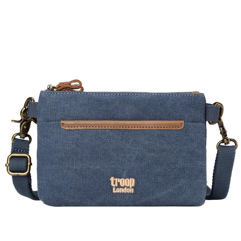TRP0509 Troop London Classic Canvas Small Across Body Bag - Troop London