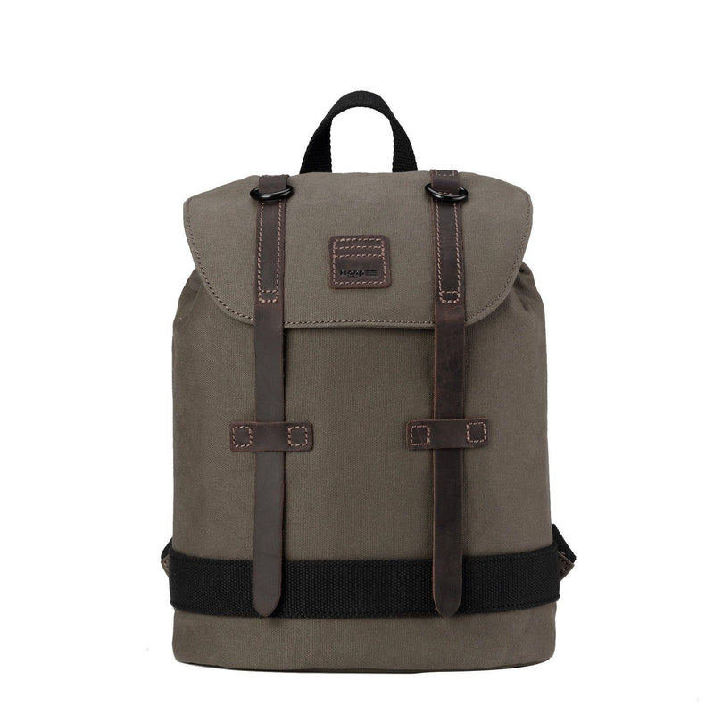 TRP0512 Troop London Heritage Waxed Canvas Daypack - Troop London
