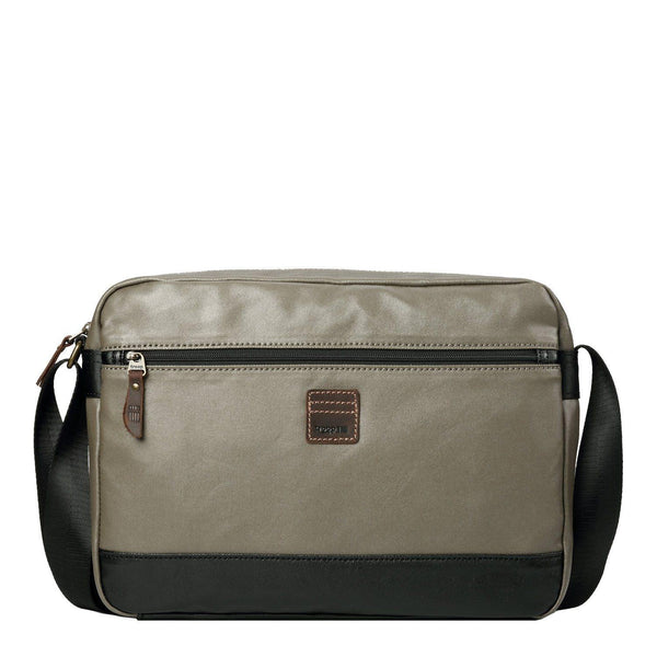 TRP0517 Troop London Heritage Coated Canvas Casual Messenger Bag, Laptop Messenger Bag