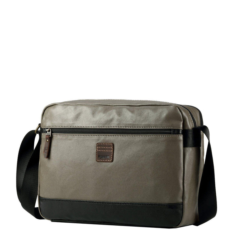 TRP0517 Troop London Heritage Coated Canvas Casual Messenger Bag, Laptop Messenger Bag - troop-london-official