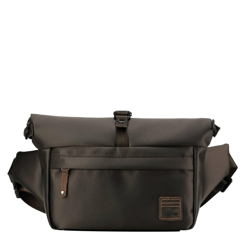 TRP0522 Troop London Heritage Nylon Waist Pack, Over Size Bum Bag, Belt Bag - Troop London