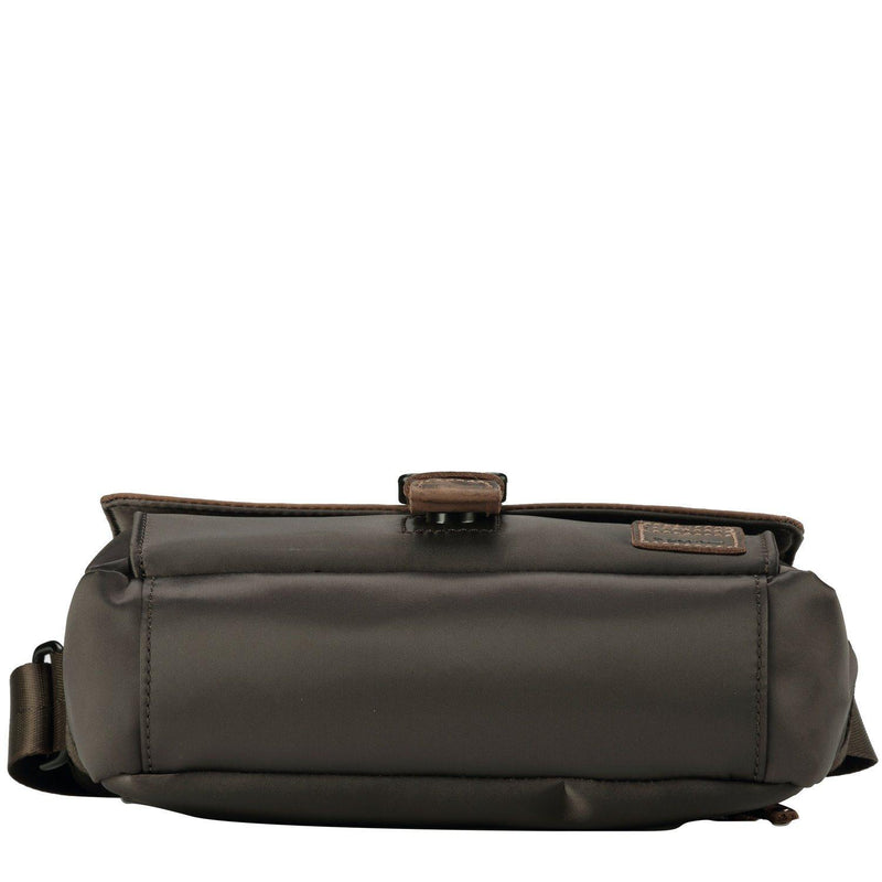 TRP0525 Troop London Heritage Nylon Across Body Bag, Small Crossbody Bag - troop-london-official