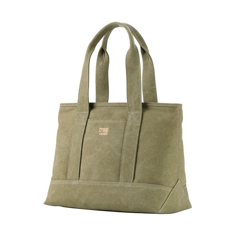 TRP0541 Troop London Classic Canvas Shoulder Bag/Tote Bag - Troop London