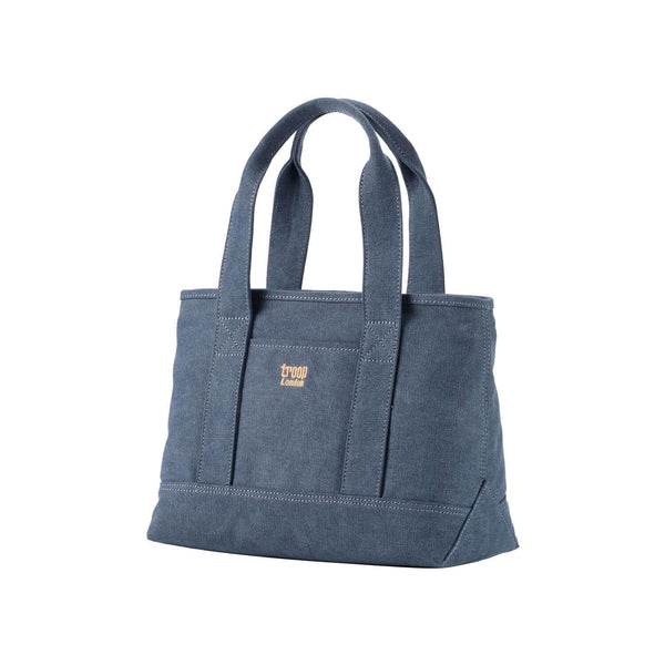 TRP0542 Troop London Classic Canvas Small Shoulder Bag/Tote Bag - Troop London