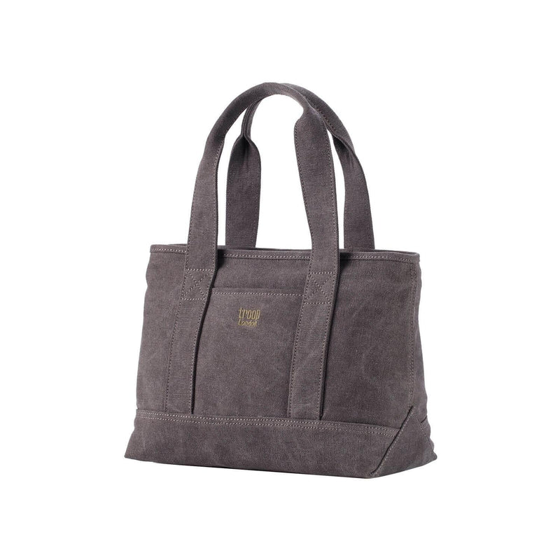TRP0542 Troop London Classic Canvas Small Shoulder Bag/Tote Bag