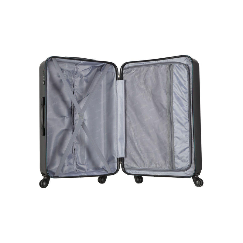 TT001 Full Set - Troop London Hard Shell 8Wheels Light Weight Trolley Case (3 Pieces) - Troop London