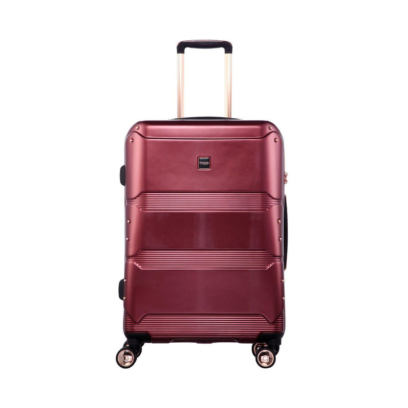 "TT002 24"" - Troop London Hard Shell 8Wheels Light Weight Trolley Case"