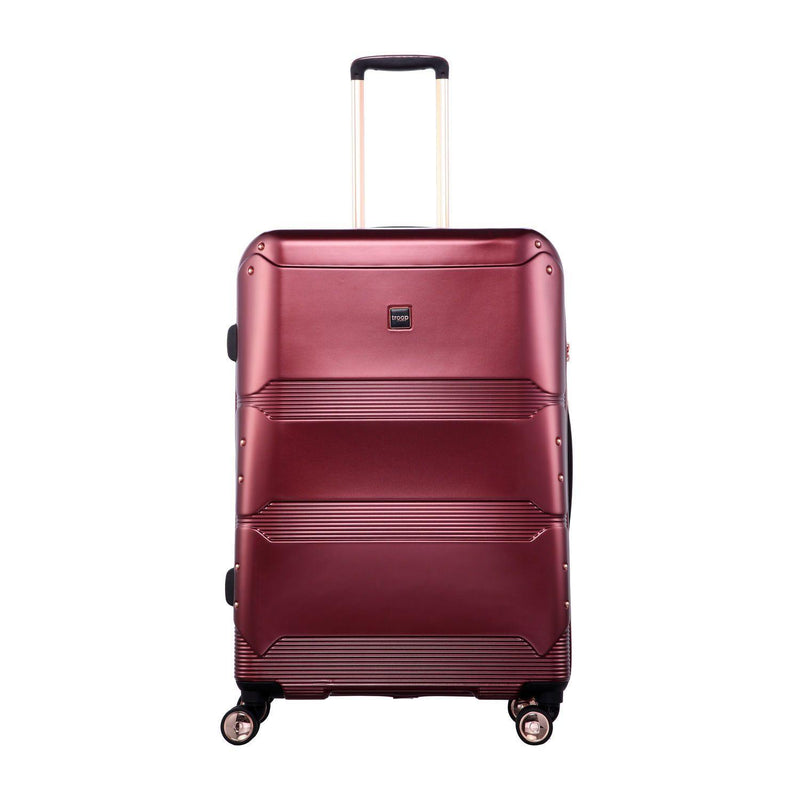 "TT002 28"" - Troop London Hard Shell 8Wheels Light Weight Trolley Case"