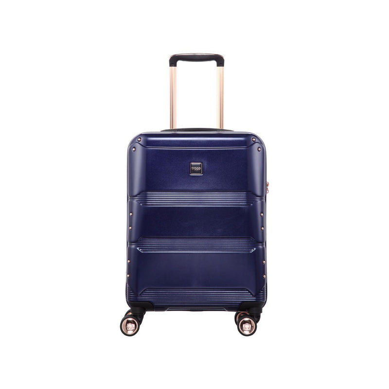 "TT002 20"" - Troop London Hard Shell 8Wheels Light Weight Trolley Case, Cabin Size Suitcase - Troop London"