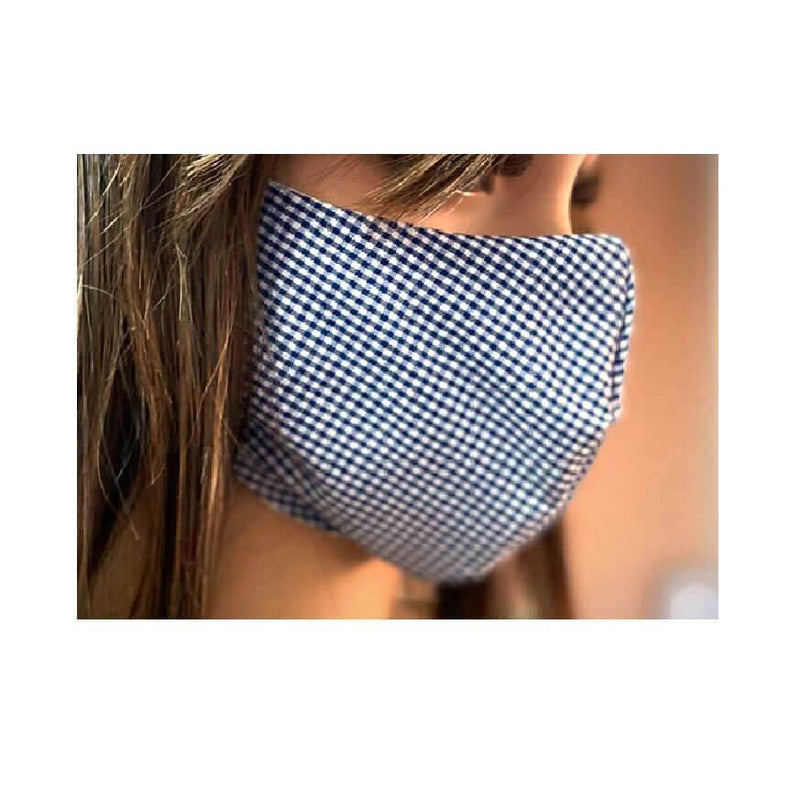 Face Coverings - Handmade Reusable Cotton Face Masks Curved Shape - Troop London