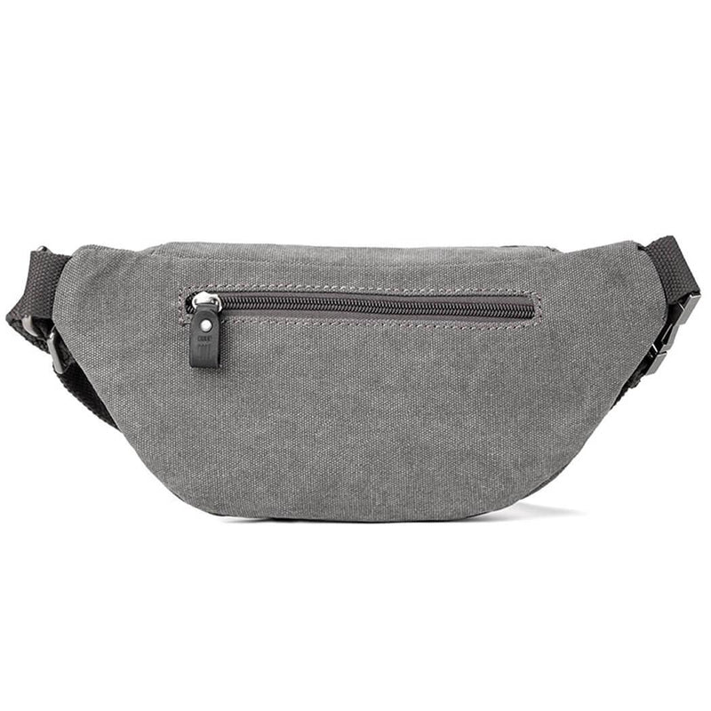 L1514 Troop London Classic Canvas Waist Bag (Black) - Troop London