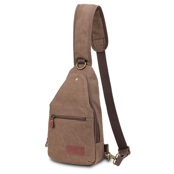 L850-S Troop London Classic Single Strap Small Backpack, Chest Bag, Sling Bag - Troop London