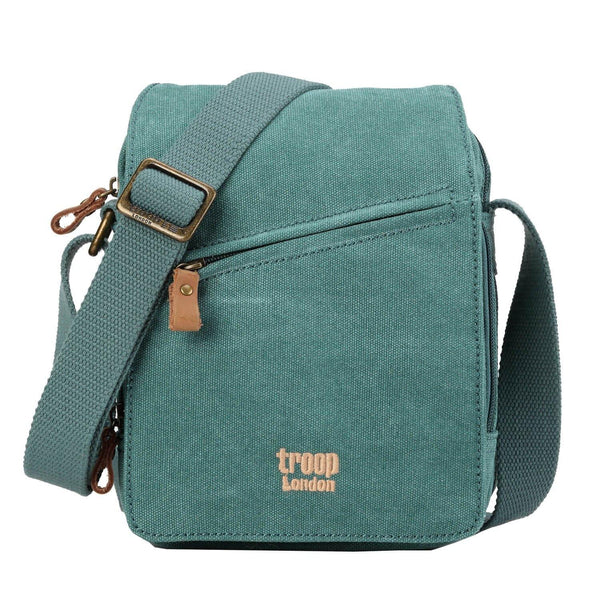 TRP0239 Troop London Classic Canvas Across Body Bag - Troop London