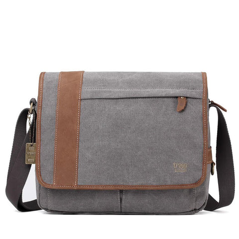 TRP0306 Troop London Classic Canvas Messenger Bag - troop-london-official