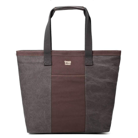 TRP0368 Troop London Classic Canvas Shoulder Bag/Tote Bag - troop-london-official