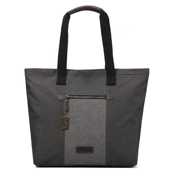 TRP0403 Troop London Urban Shoulder Bag, Smart Casual Tote Bag - Troop London