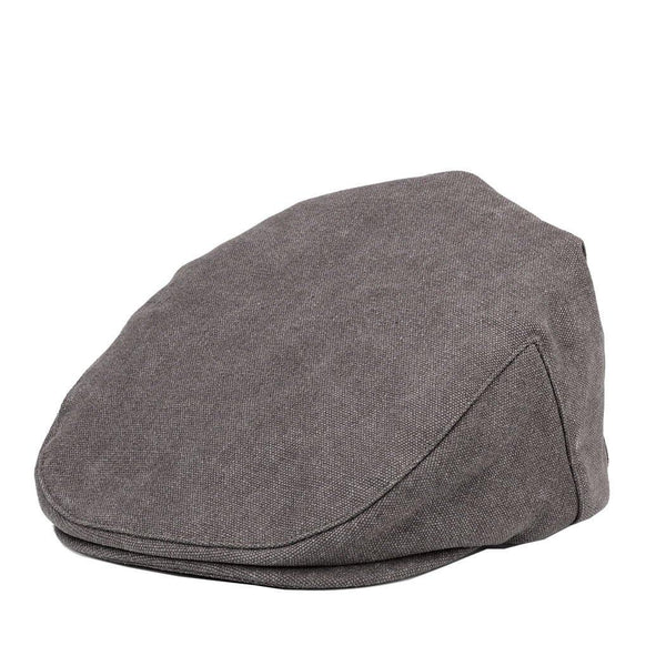 TRP0503 Troop London Accessories Canvas Old School Style Hat, Flat Cap, Shelby Newsboy Cap - Troop London