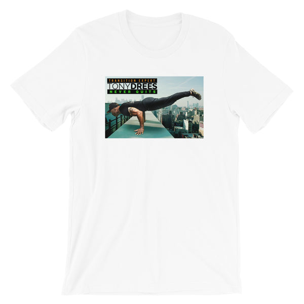 Tony Drees Never Quits Planking Collectible Tee