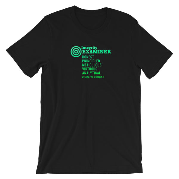 Superpower Integrity Examiner Tee