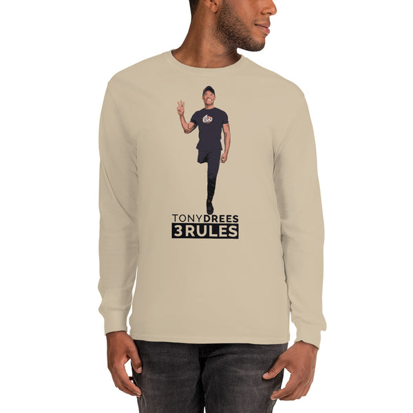 Tony Drees Signature Long Sleeve Tee - Sand