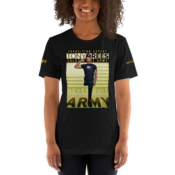Special Edition Tony Drees Salutes The Army Tee