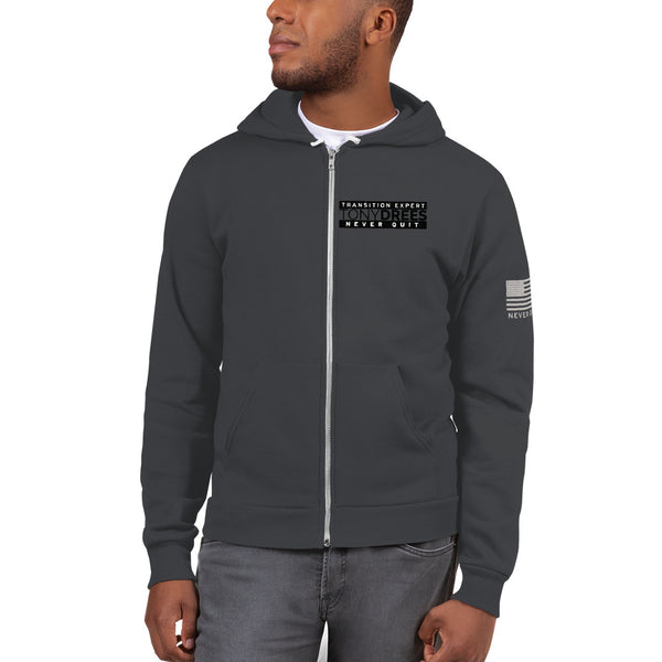 Tony Drees Limited Edition Never Quit Hoodie