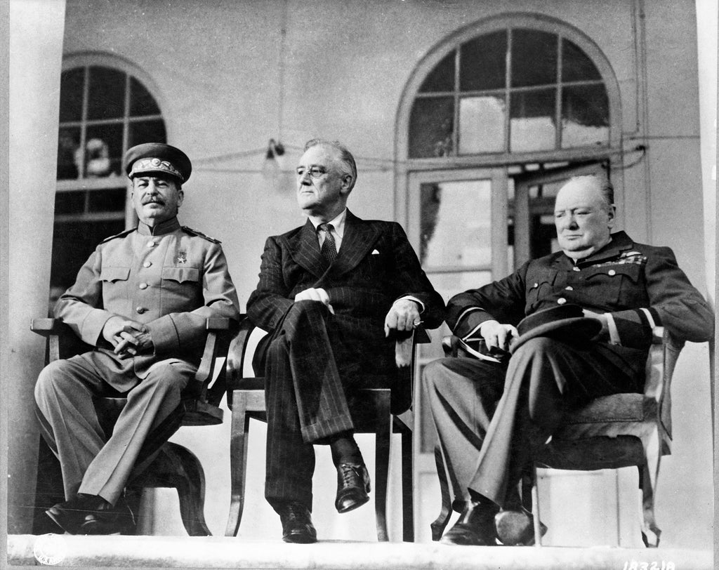 Stalin, FDR, and Churchill