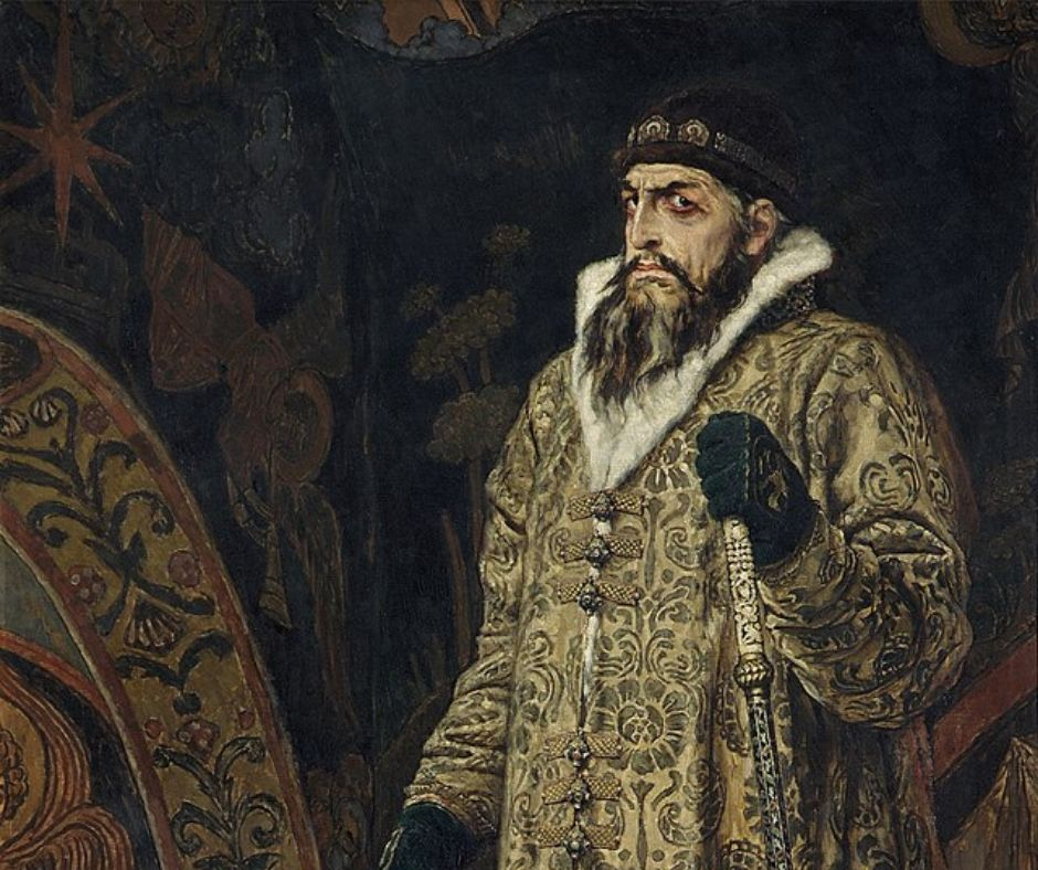 Portrait of Ivan the Terrible