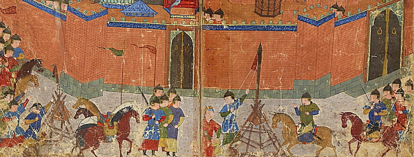 Mongols lay siege to Baghdad (modern day Iraq) in 1258 AD