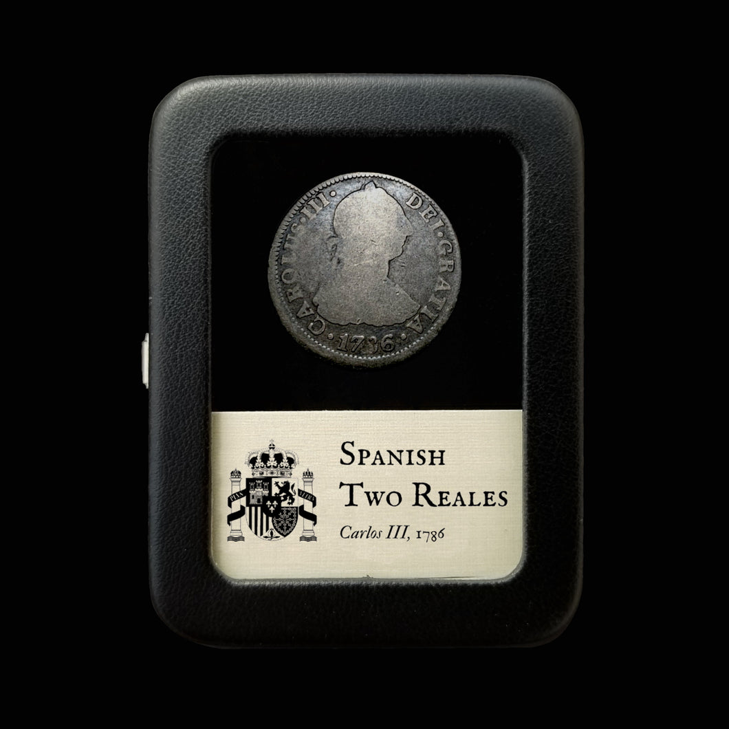 Spanish Silver Reales - 1700's