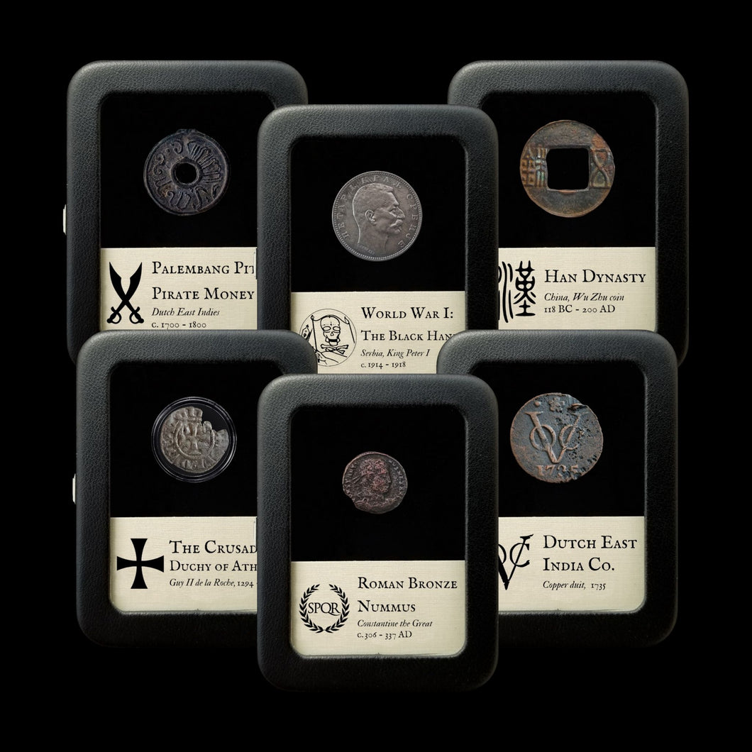 The Deluxe World History Hoard - 6 Items, 118 BC — 1918 AD