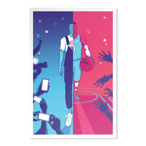 Russell Westbrook Poster | 500 LEVEL