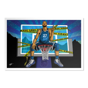 Rudy Gobert Poster | 500 LEVEL