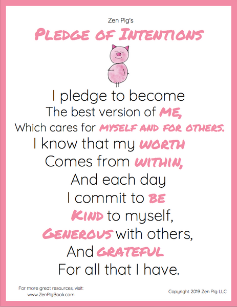 Download Zen Pig's Pledge of Intentions