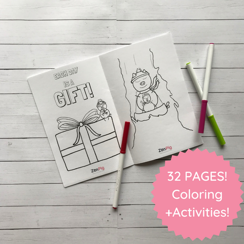 32-Page Coloring and Activity Book Printable!