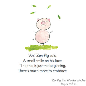 Zen Pig shows how mindfulness unlocks gratitude