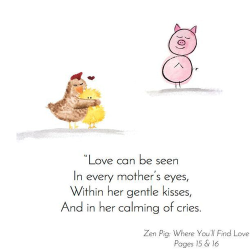 Love is all around us - Zen Pig shows just how abundant it is