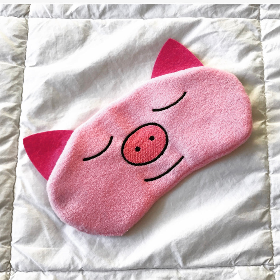 ON SALE!  -Zen Pig Rest/Meditation Mask