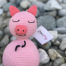 "Load image into Gallery viewer, Zen Pig ""Grassy Knoll"" Edition Plush"