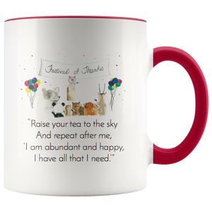 """Zen Pig and His Small Speech"" Mug"