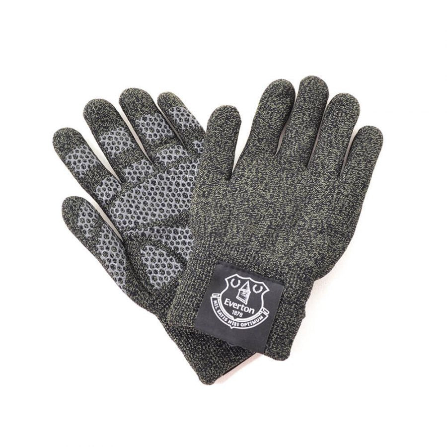 EVERTON FC TOUCHSCREEN KNITTED GLOVES