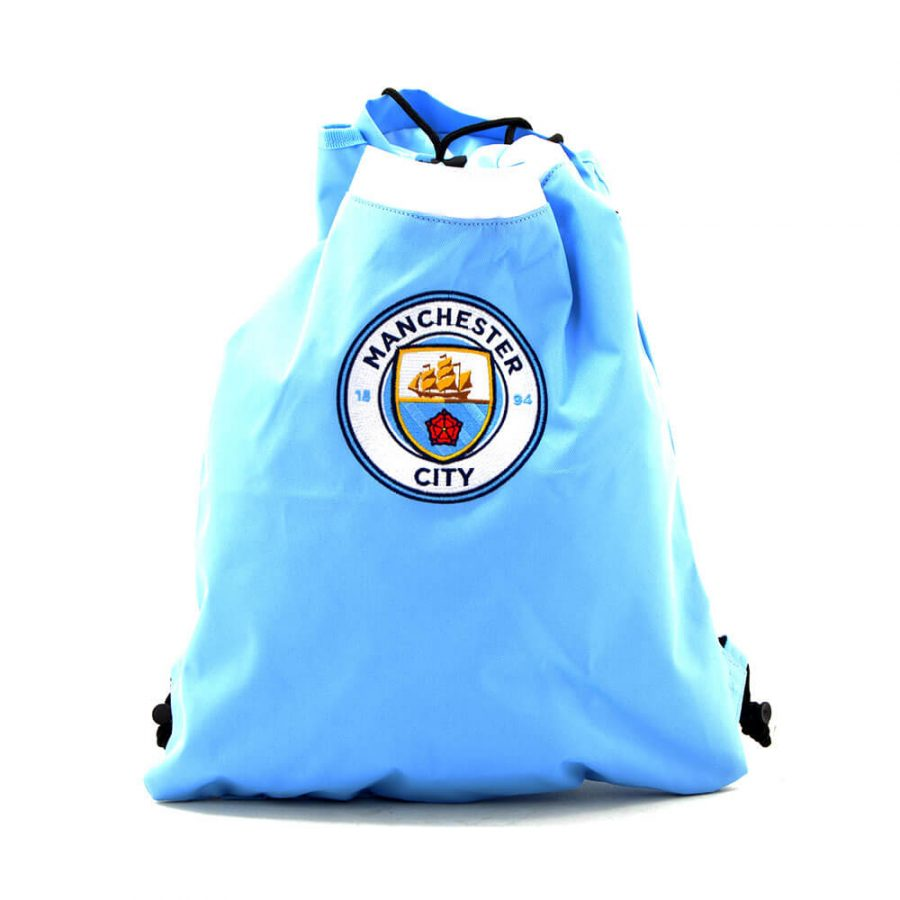 MANCHESTER CITY FC DRAWSTRING BAG