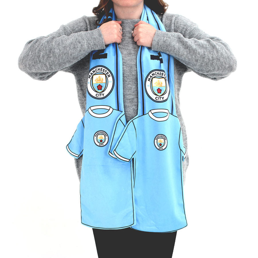 MANCHESTER CITY SHIRT SCARF