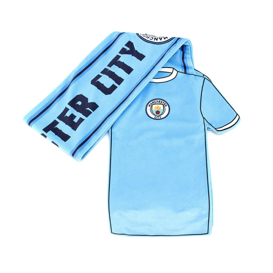sports shoes f90cf b51af MANCHESTER CITY SHIRT SCARF – Ultra Sport Products, LLC