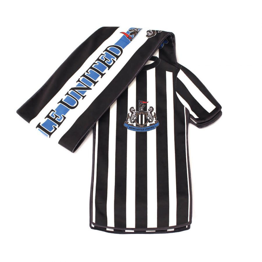 NEWCASTLE UTD SHIRT SCARF